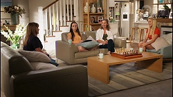 Terese Willis, Imogen Willis, Gemma Willis, Roxy Willis in Neighbours Episode 8091