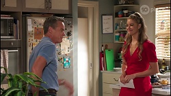 Paul Robinson, Chloe Brennan in Neighbours Episode 8091