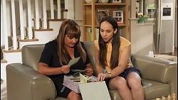 Terese Willis, Imogen Willis in Neighbours Episode 8091
