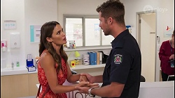 Elly Brennan, Mark Brennan in Neighbours Episode 8093