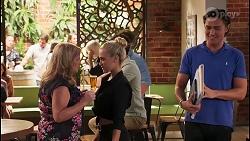Sheila Canning, Roxy Willis, Leo Tanaka in Neighbours Episode 8093