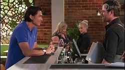 Leo Tanaka, Sheila Canning, Roxy Willis, Shane Rebecchi in Neighbours Episode 8093