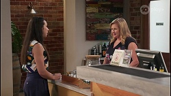 Imogen Willis, Sheila Canning in Neighbours Episode 8093