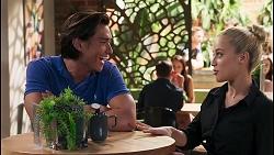 Leo Tanaka, Roxy Willis in Neighbours Episode 8093
