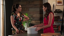 Dipi Rebecchi, Elly Brennan in Neighbours Episode 8093