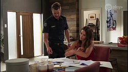 Mark Brennan, Elly Brennan in Neighbours Episode 8093