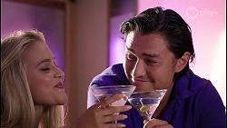 Roxy Willis, Leo Tanaka in Neighbours Episode 8093