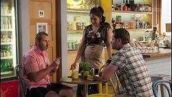 Toadie Rebecchi, Dipi Rebecchi, Shane Rebecchi in Neighbours Episode 8094