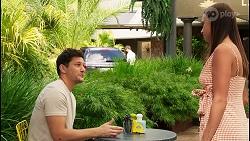 Finn Kelly, Bea Nilsson in Neighbours Episode 8094