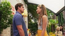 Kyle Canning, Chloe Brennan in Neighbours Episode 8095