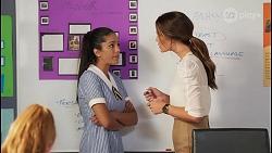 Yashvi Rebecchi, Elly Brennan in Neighbours Episode 8095