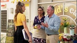 Chloe Brennan, Dipi Rebecchi, Karl Kennedy in Neighbours Episode 8095