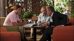 Kyle Canning, Karl Kennedy, Paul Robinson in Neighbours Episode 8095