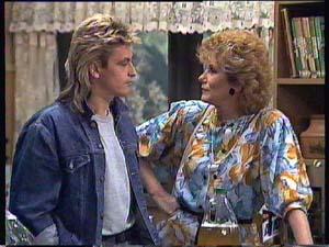 Shane Ramsay, Madge Bishop in Neighbours Episode 0406