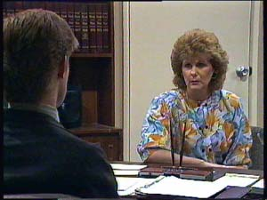 Clive Gibbons, Madge Bishop in Neighbours Episode 0406