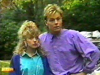 Scott Robinson, Charlene Mitchell in Neighbours Episode 0526