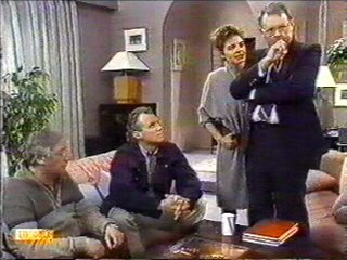 Gail Robinson, Harold Bishop, Jim Robinson, Rob Lewis in Neighbours Episode 0528