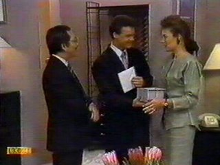 Mr Udagawa, Paul Robinson, Gail Robinson in Neighbours Episode 0534