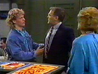 Henry Ramsay, Harold Bishop, Madge Bishop in Neighbours Episode 0534