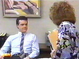 Paul Robinson, Madge Bishop in Neighbours Episode 0539