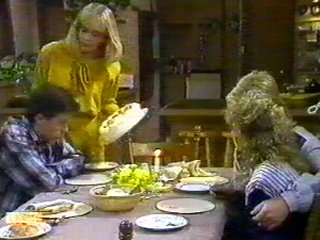Mike Young, Jane Harris, Scott Robinson, Charlene Mitchell in Neighbours Episode 0540