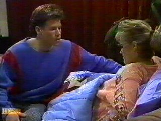 Mike Young, Daphne Clarke in Neighbours Episode 0542