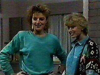 Gail Robinson, Charlene Mitchell in Neighbours Episode 0546