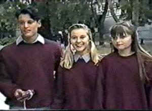 Josh Anderson, Melissa Jarrett, Cody Willis in Neighbours Episode 1197