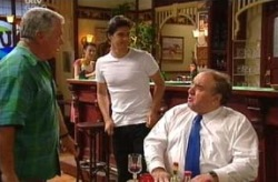 Lou Carpenter, Matt Hancock, Brian Curtis in Neighbours Episode 3740
