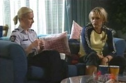 Sgt. Joanna Douglas, Steph Scully in Neighbours Episode 4069