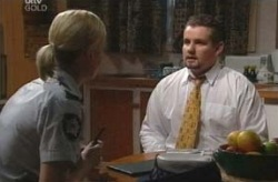 Sgt. Joanna Douglas, Toadie Rebecchi in Neighbours Episode 4069