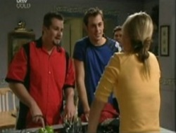 Steph Scully, Toadie Rebecchi, Stuart Parker in Neighbours Episode 4073