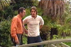 Karl Kennedy, Drew Kirk in Neighbours Episode 4075