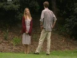 Nina Tucker, Ray Milsome in Neighbours Episode 4078
