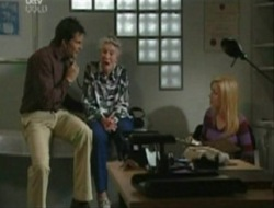 Darcy Tyler, Rose Belker, Dee Bliss in Neighbours Episode 4079