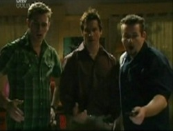 Stuart Parker, Darcy Tyler, Toadie Rebecchi in Neighbours Episode 4080