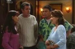 Susan Kennedy, Joe Scully, Karl Kennedy, Lyn Scully in Neighbours Episode 4084