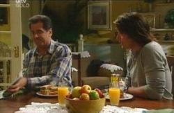 Ron Kirk, Drew Kirk in Neighbours Episode 4084