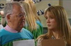 Harold Bishop, Nina Tucker in Neighbours Episode 4084