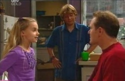 Boyd Hoyland, Summer Hoyland, Max Hoyland in Neighbours Episode 4085
