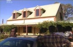 Libby Kennedy, Ron Kirk, Drew Kirk in Neighbours Episode 4086
