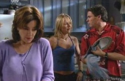 Lyn Scully, Steph Scully, Joe Scully in Neighbours Episode 4087