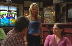 Stuart Parker, Steph Scully, Amanda Cooper in Neighbours Episode 4087