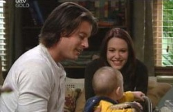 Drew Kirk, Ben Kirk, Libby Kennedy in Neighbours Episode 4087
