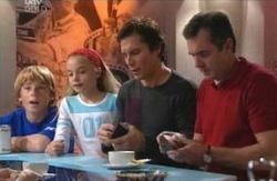Boyd Hoyland, Summer Hoyland, Darcy Tyler, Karl Kennedy in Neighbours Episode 4088