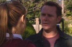 Nina Tucker, Max Hoyland in Neighbours Episode 4088