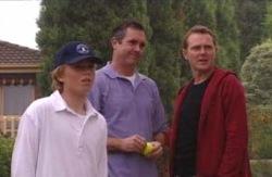Boyd Hoyland, Karl Kennedy, Max Hoyland in Neighbours Episode 4089