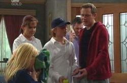 Dee Bliss, Susan Kennedy, Boyd Hoyland, Karl Kennedy, Max Hoyland in Neighbours Episode 4089