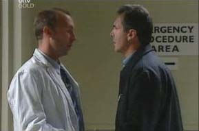 Dr Batchelor, Karl Kennedy in Neighbours Episode 4091