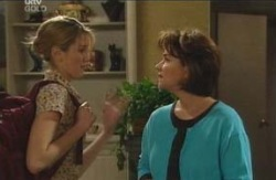Nina Tucker, Lyn Scully in Neighbours Episode 4093